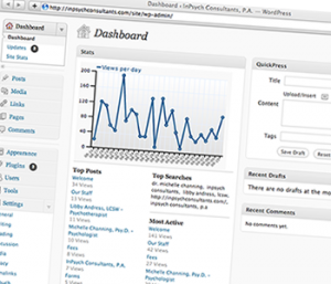 Screen Site Admin Dashboard